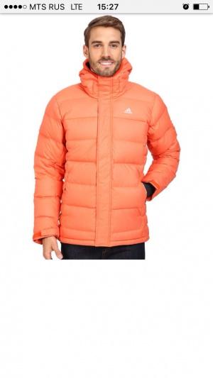 Пуховик мужской Adidas Climaheat, размер L