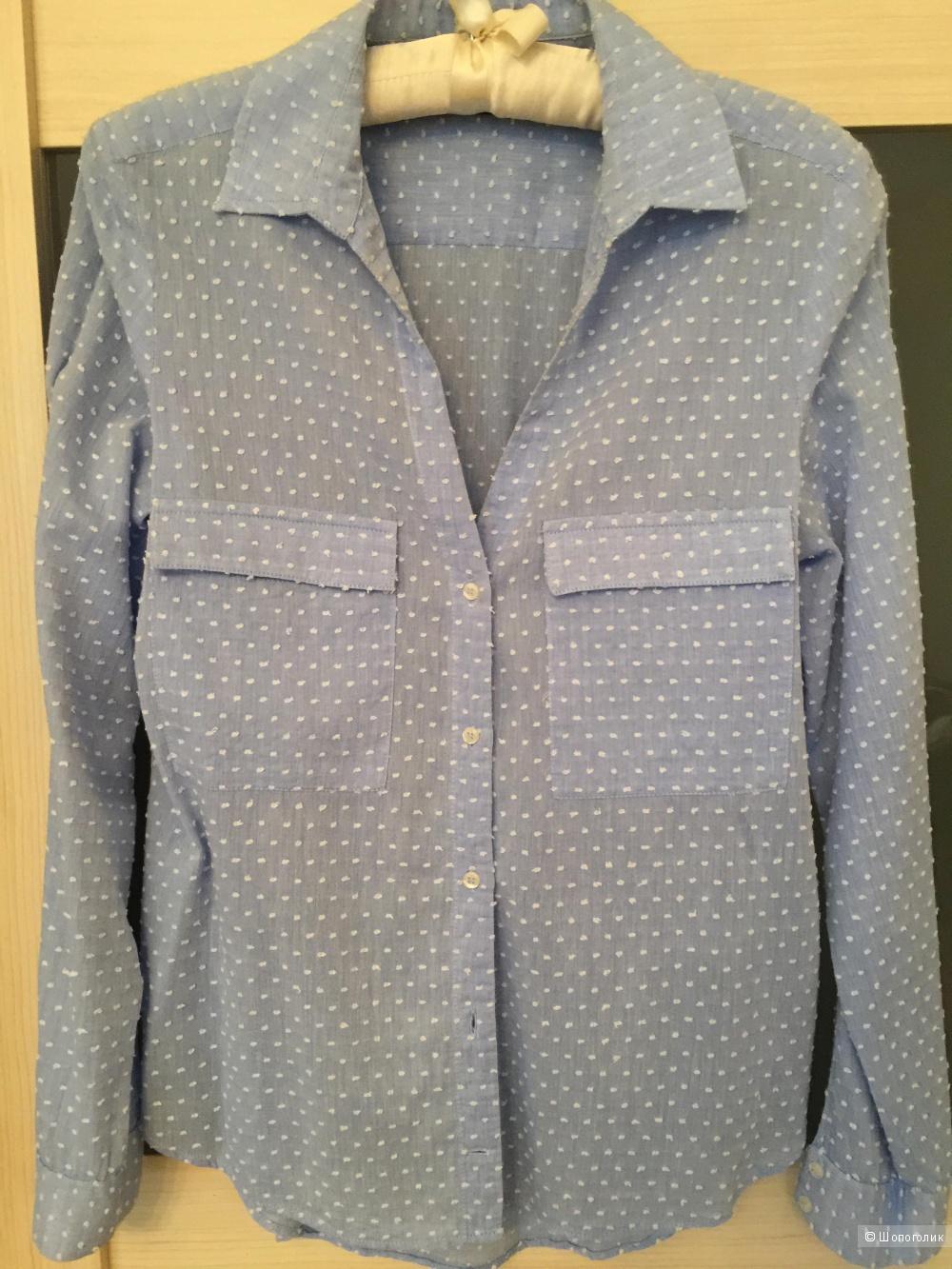 Рубашка Zara Basic  размер xs