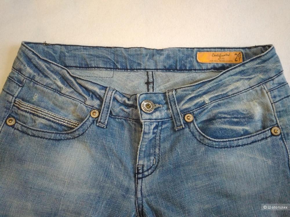 Сине-голубые джинсы Wonderful Blue Италия 44-46RUS