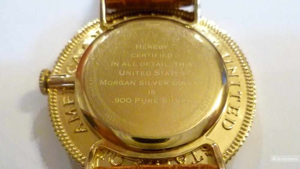 Часы Серебрянный доллар США. 1921. г