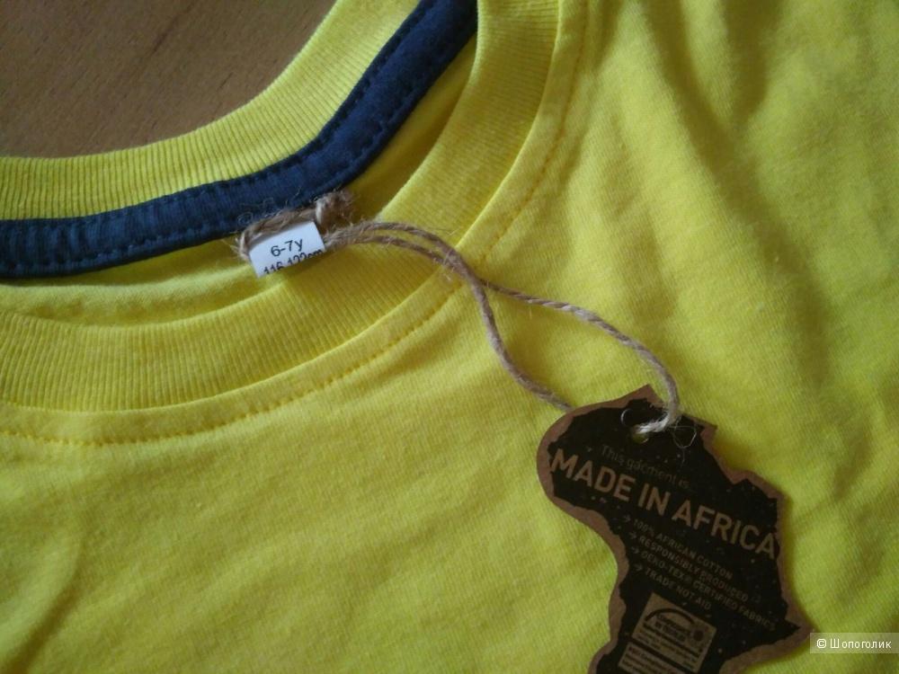 Комплект детских футболок Mantisworld на ростовку 116-122 см.