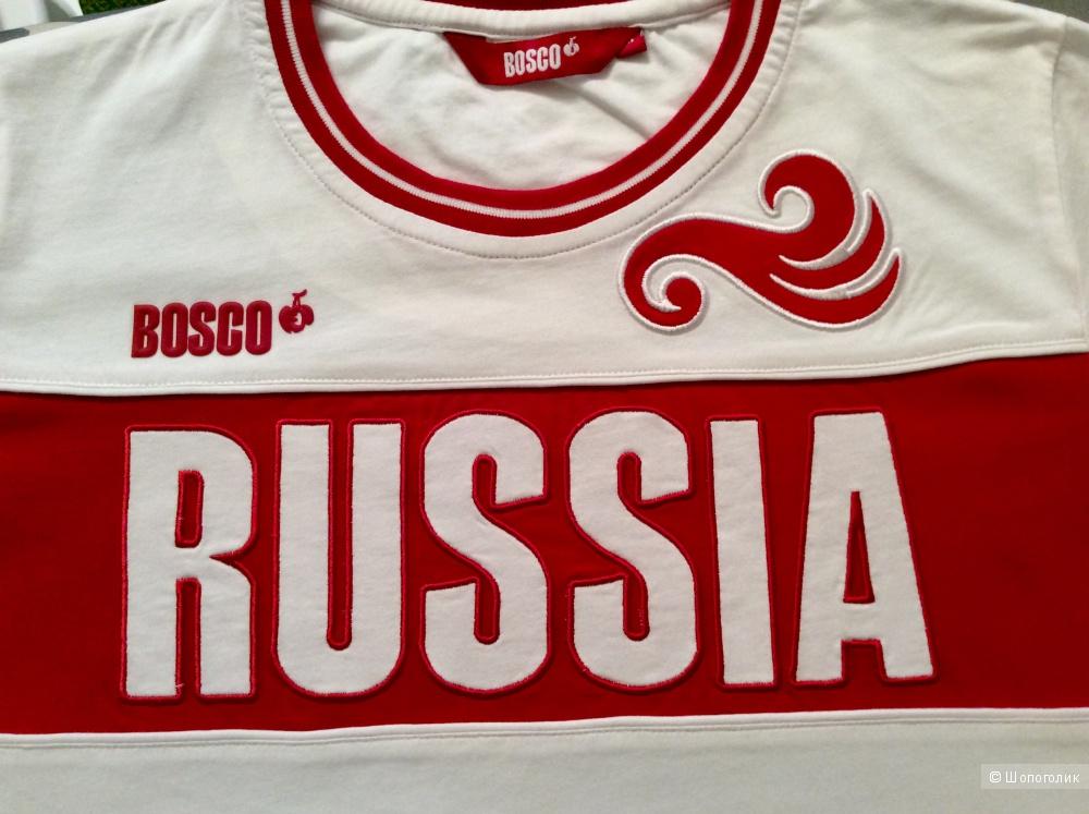 Футболка женская BOSCO коллекция SOCHI 2014 Новая размер М на 44