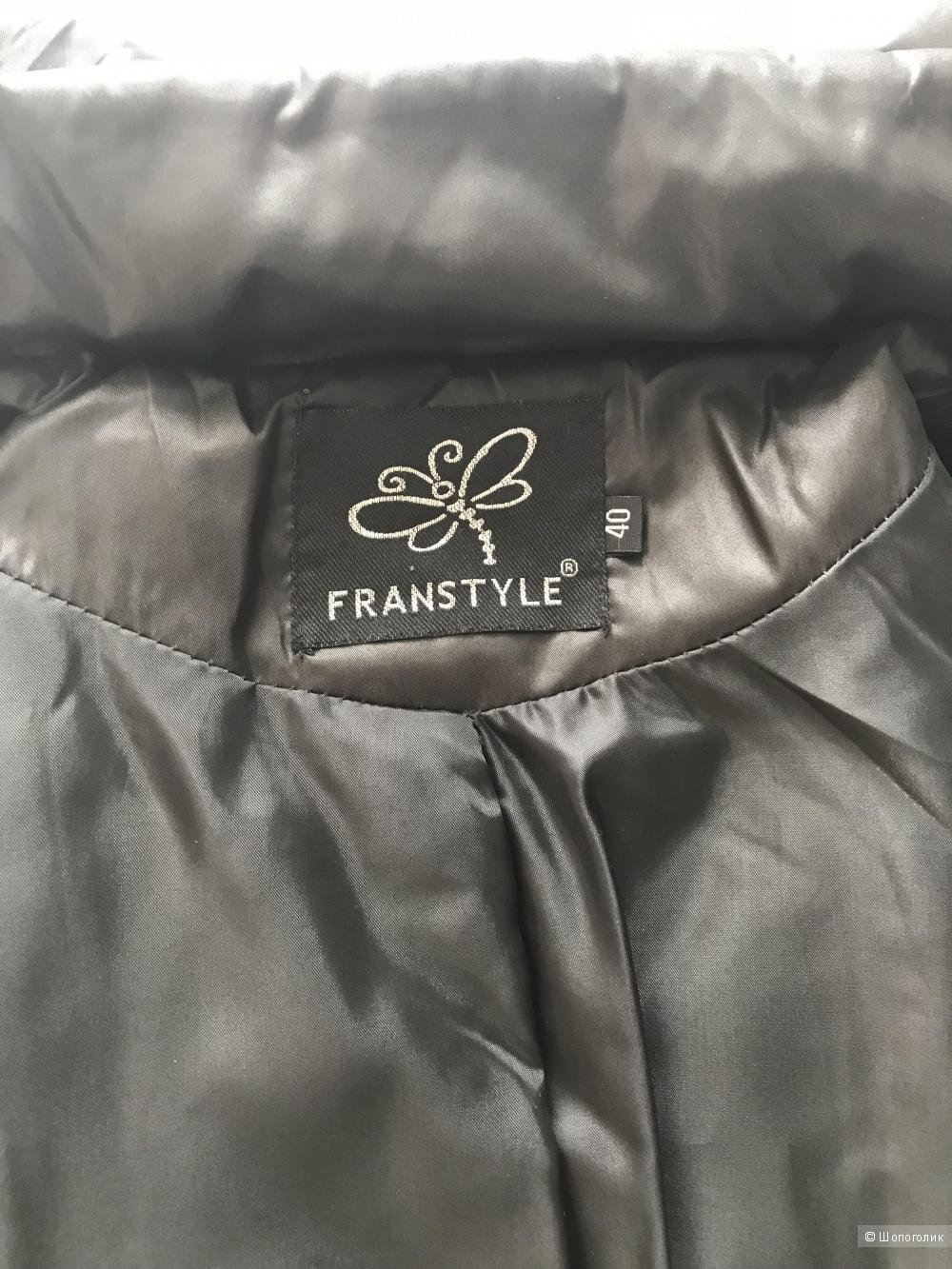 Пальто пуховик franstyle р. 44, 46