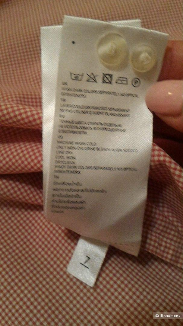 Рубашка женская Uniqlo, размер М