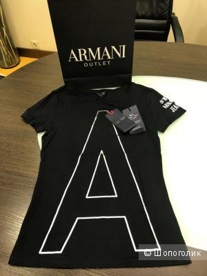 Женская футболка Armani Jeans, размер XS (38)