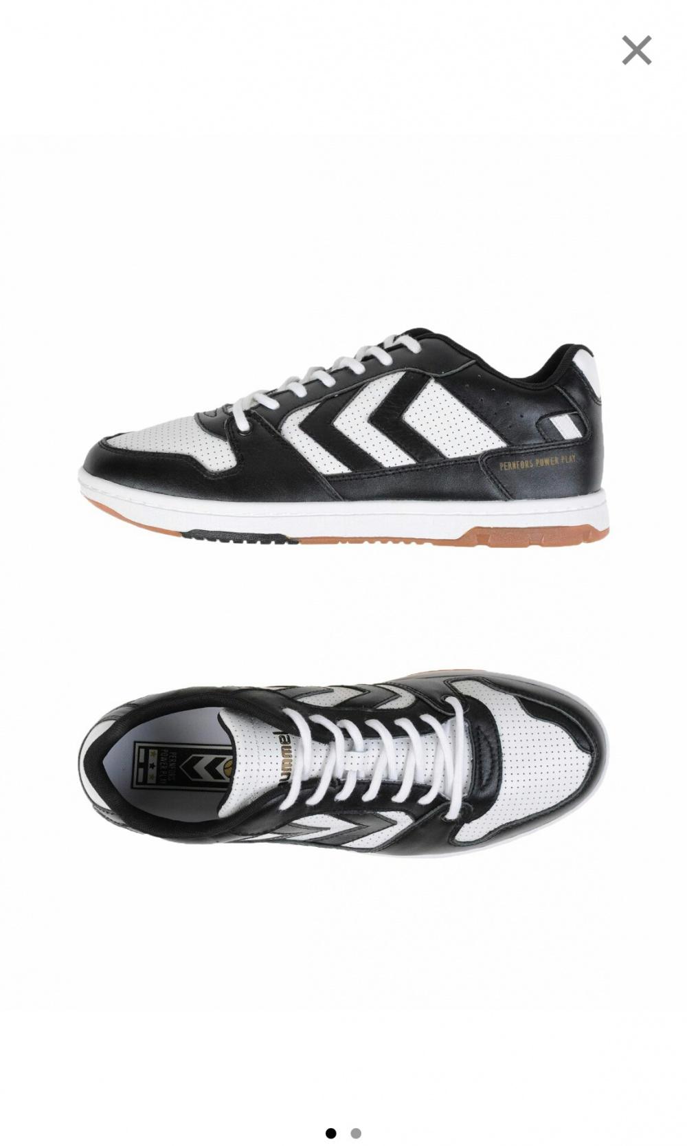 Мужские кроссовки из натуральной кожи hummel р-р 41.