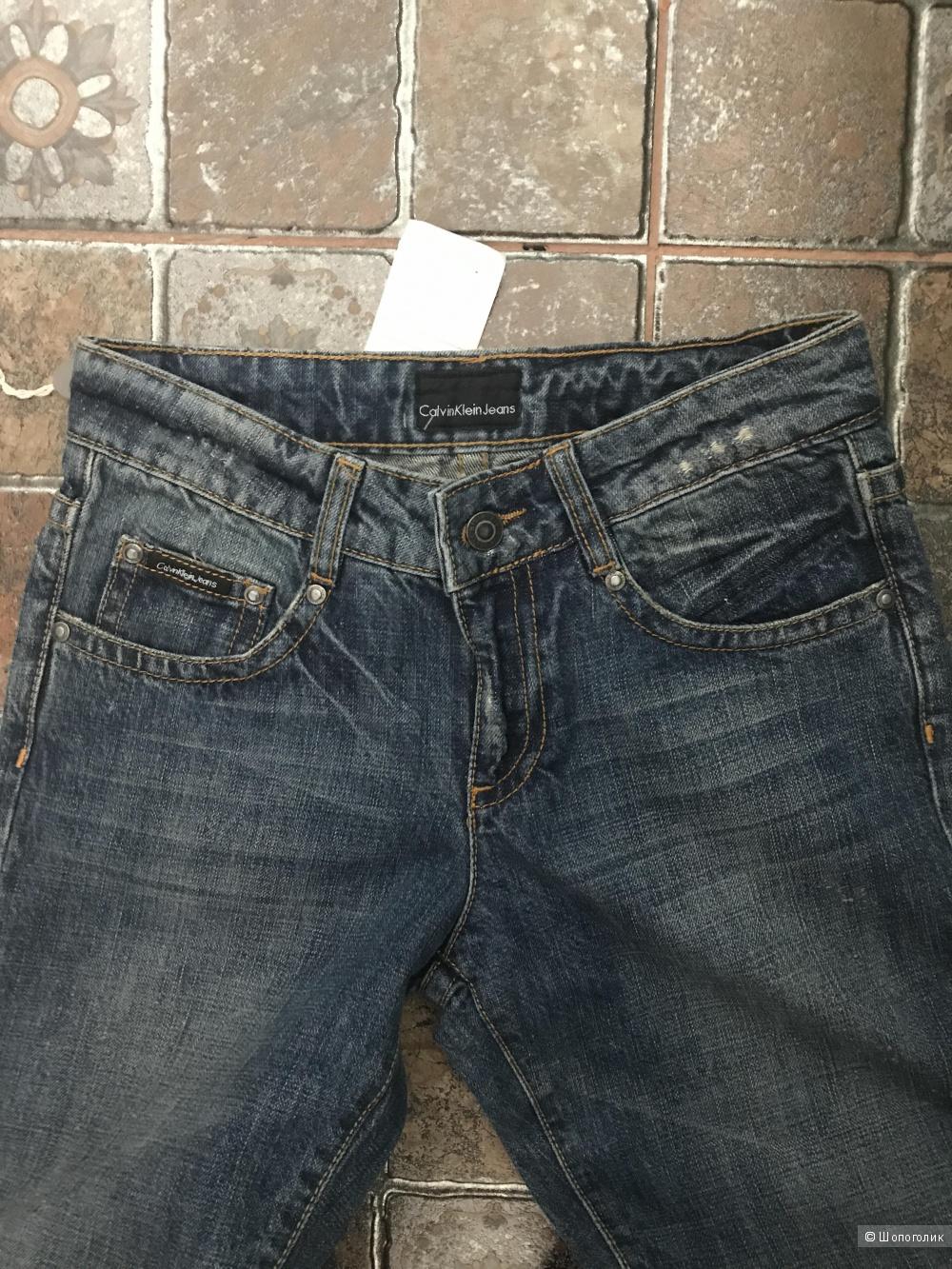 Джинсы Calvin Klein Jeans р.26 (по факту, скорее, 25)