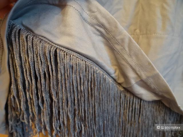 """Коктейльное платье из вытянутых нитей """"H&M"""", размер 42-44, б/у"""