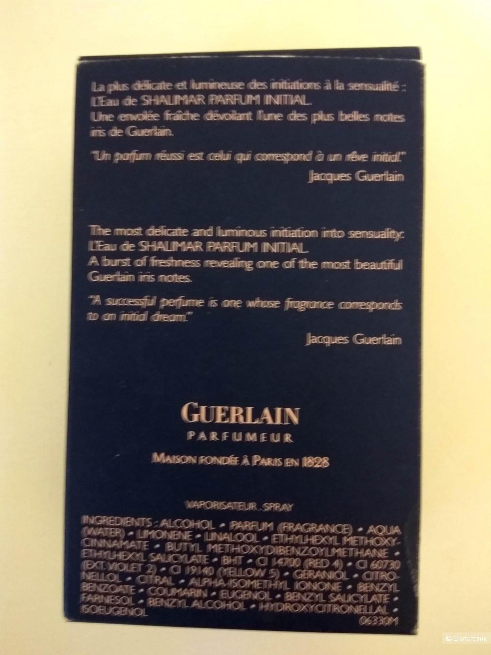 Shalimar Parfum Initial Guerlain аромат 40 мл.