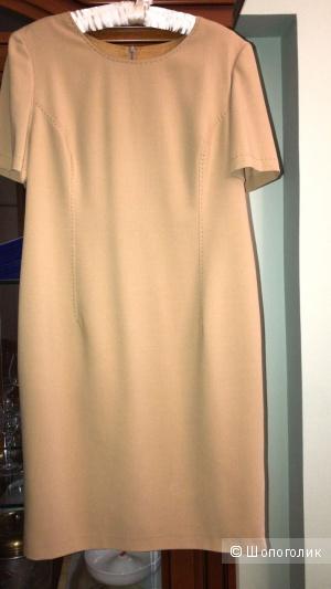 Офисное платье футляр, размер 50
