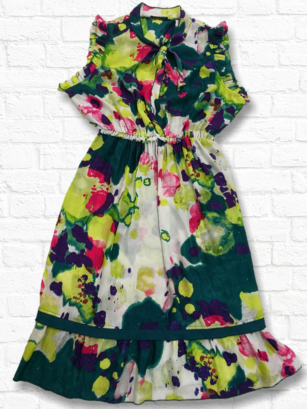 Sisley. платье. М, неполный L