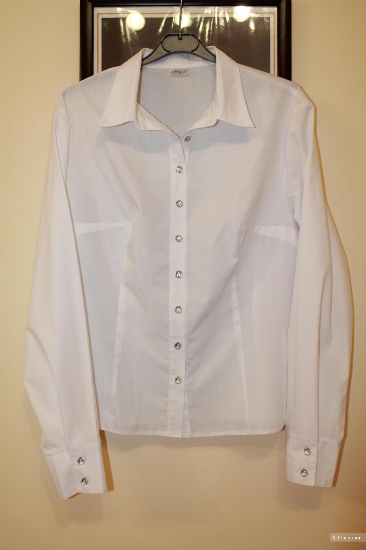 Блуза офисная российского бренда Ажур р.50