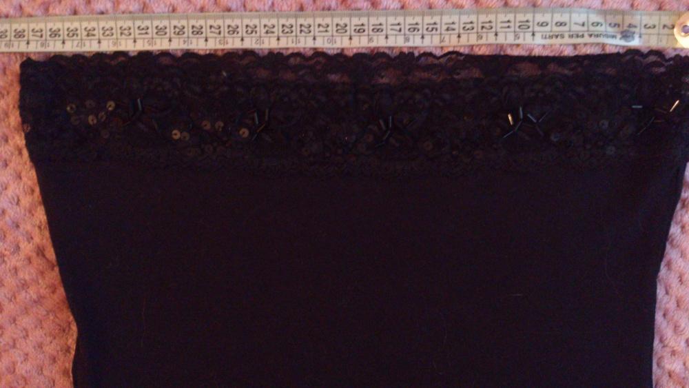 Топ More&More черный , размер 34 (нем) = 40-42 (рос), Германия