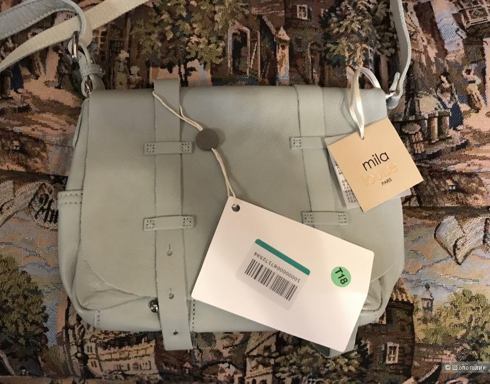 Кожаная сумка Mila Louise