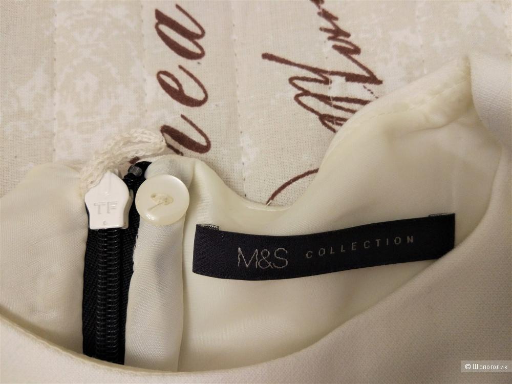 Черно-белое платье MARKS & SPENCER 42-44 размер/10 UK/M