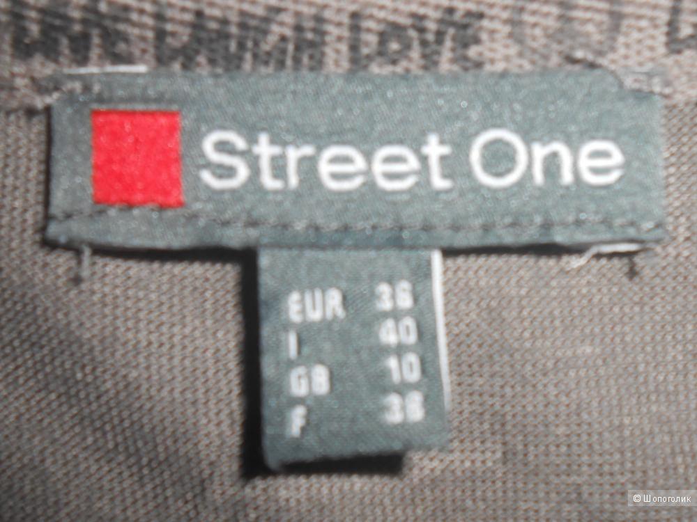 Футболка STREET ONE, размер 36  EUR (44-46 RUS)
