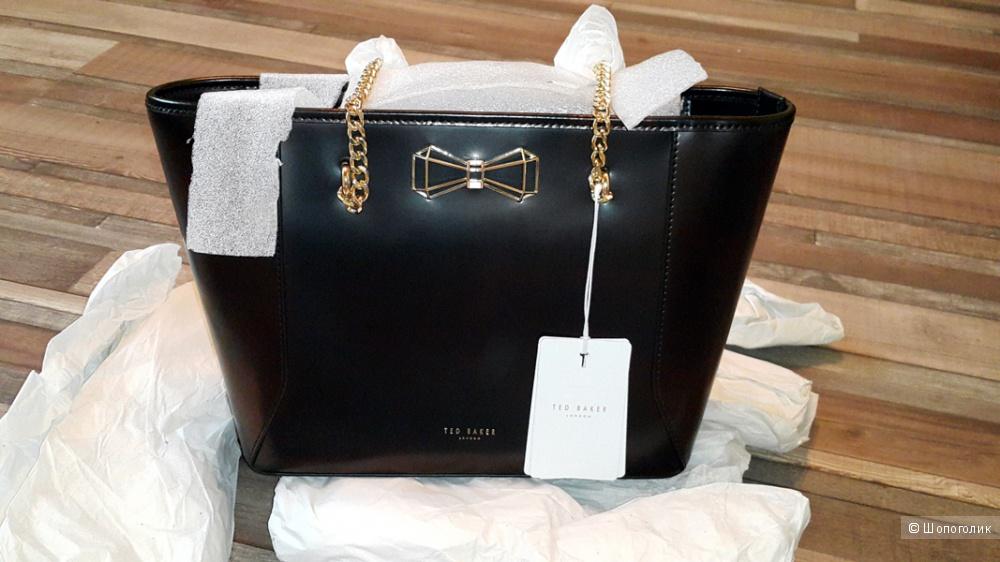 Кожаная сумка Тэд Бакер