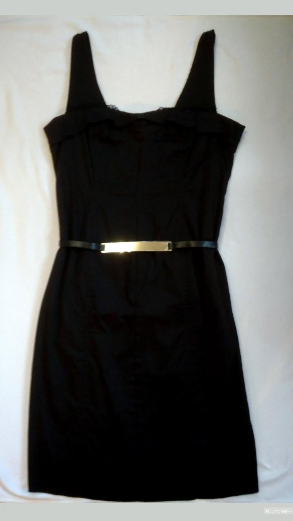 Черное платье Oltre 48RUS