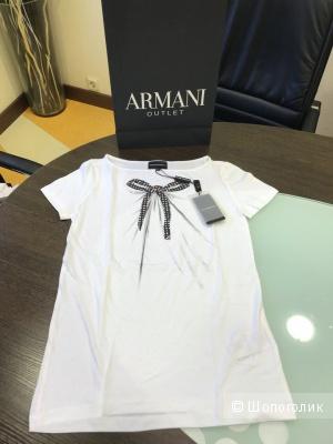 Женская футболка Emporio Armani, размер 38 (XS)