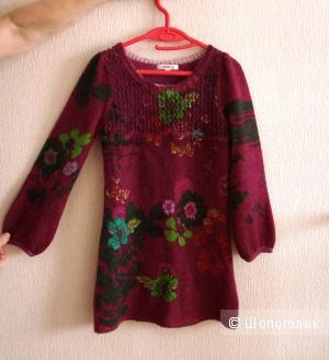 Платье KENZO детское, рост 126