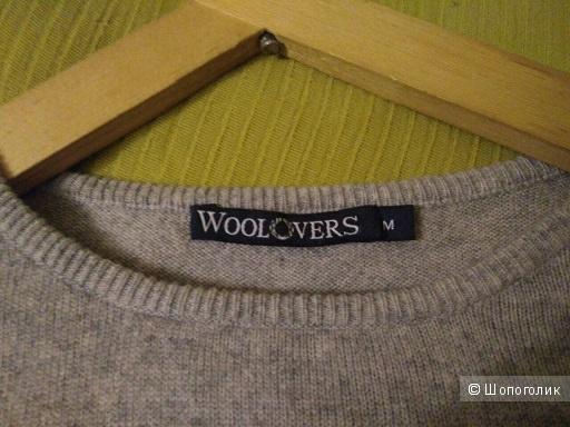 Джемпер Woolovers из шерсти и кашемира,  М на 48р