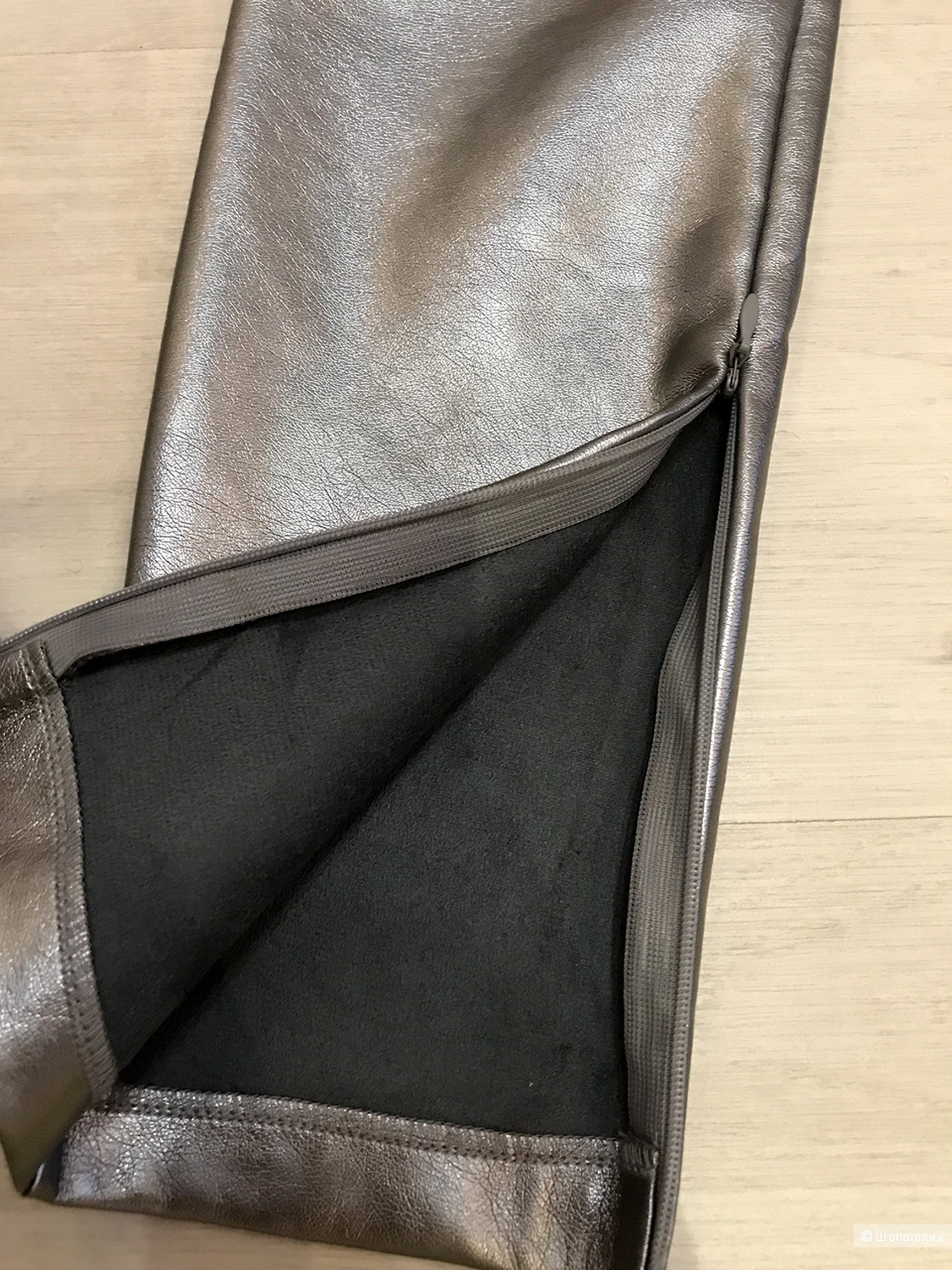 Сет: пальто Mango, свитер WW-FShiney, леггинсы Zara р 42-44