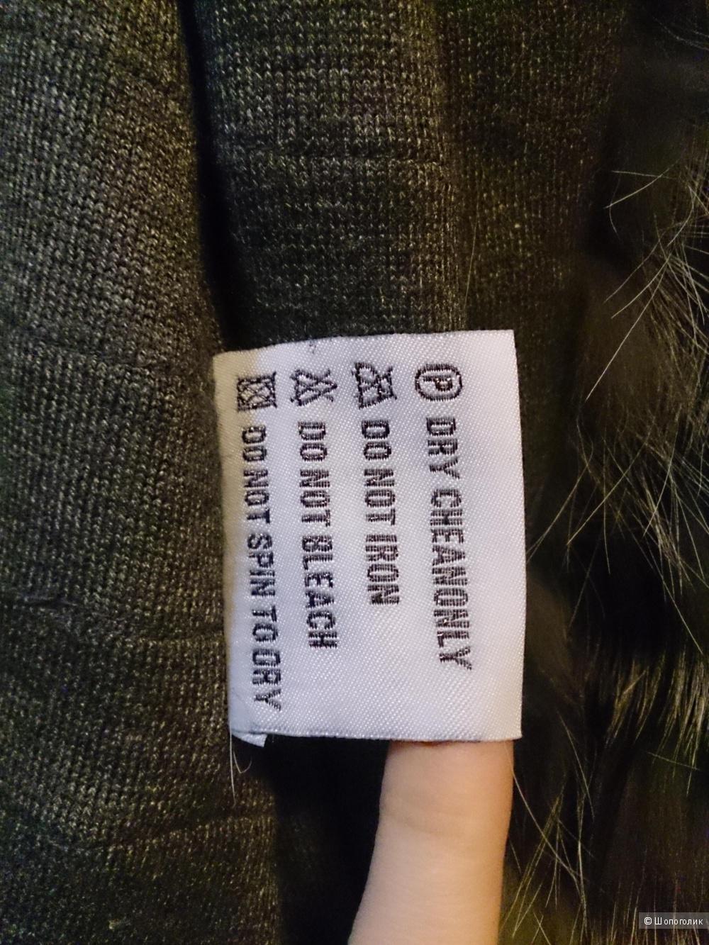 Kimberlу. Меховое пальто в роспуск. Шуба 44(42-44+)