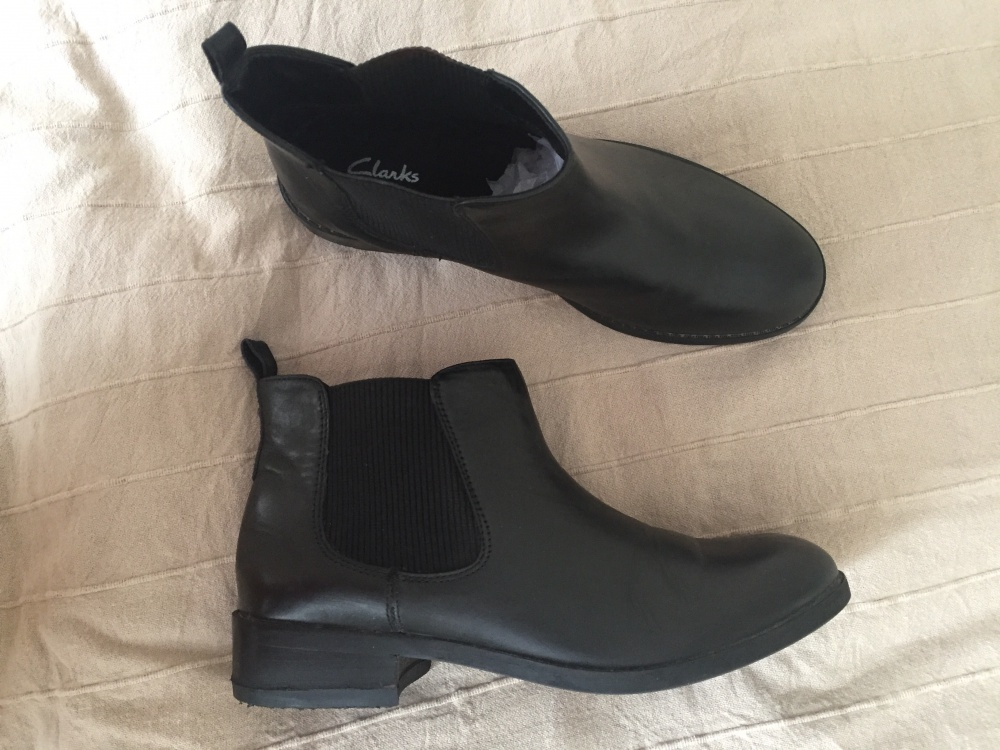 Ботинки челси Clarks размер UK5