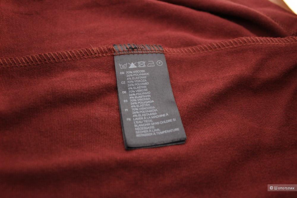 Платье H&M, длина миди, на полный 44 размер