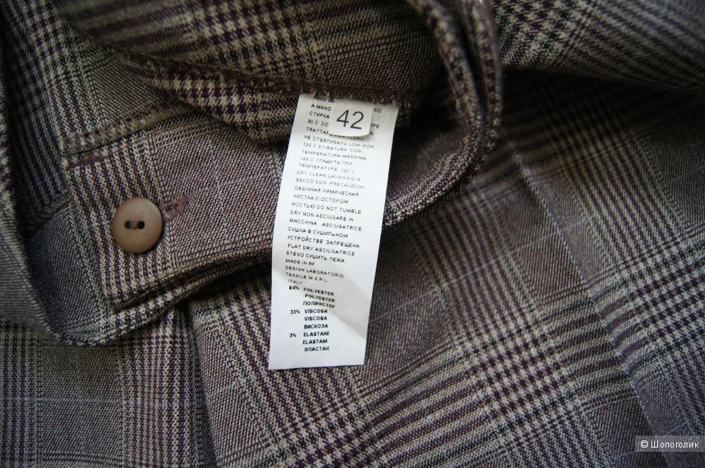 Костюм пиджак (р.44) и шорты (р.42)  GILIO