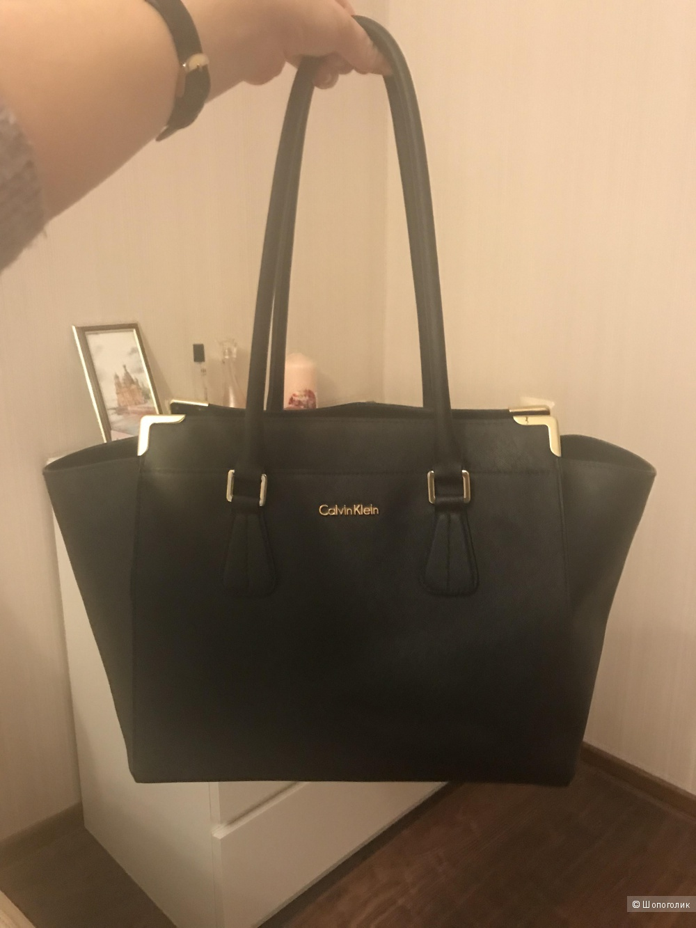 Чёрная сумка Calvin Klein