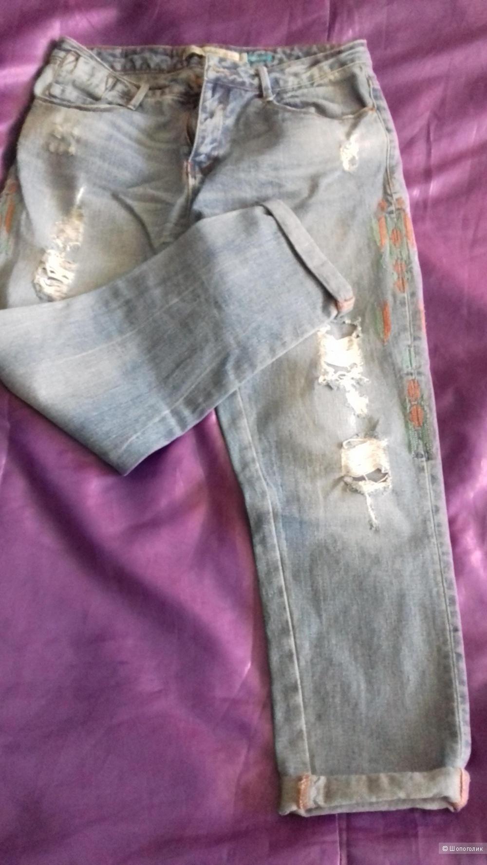 Джинсы бой-френды Trafaluk Zara, 46-48 размер (USA 10, EUR 42)