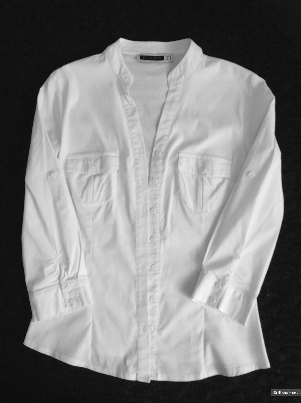 Комплект, топ/VIS-A-VIS + блузка/FUSION, разм. XS-S