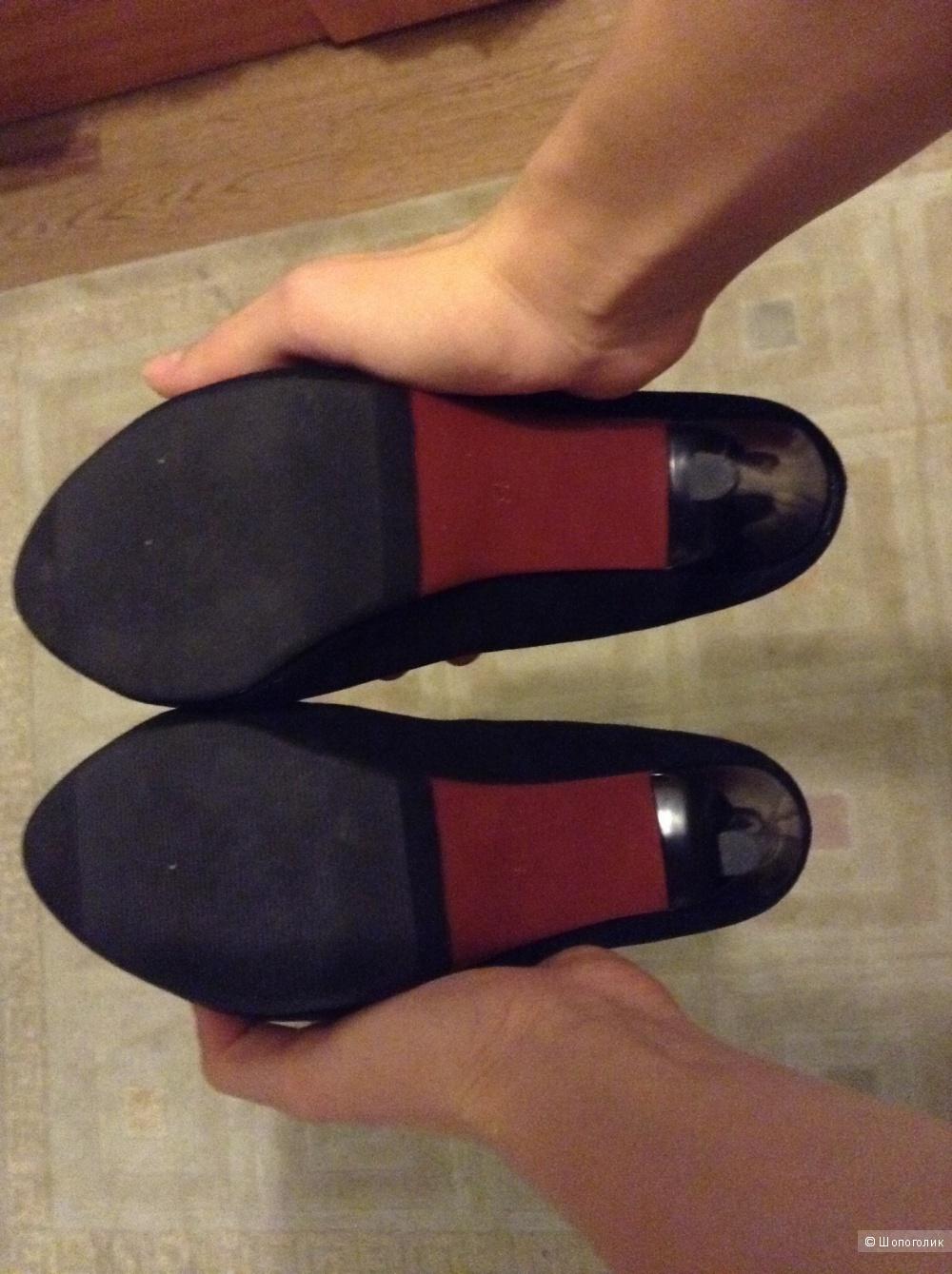 Туфли замшевые, 37 размер