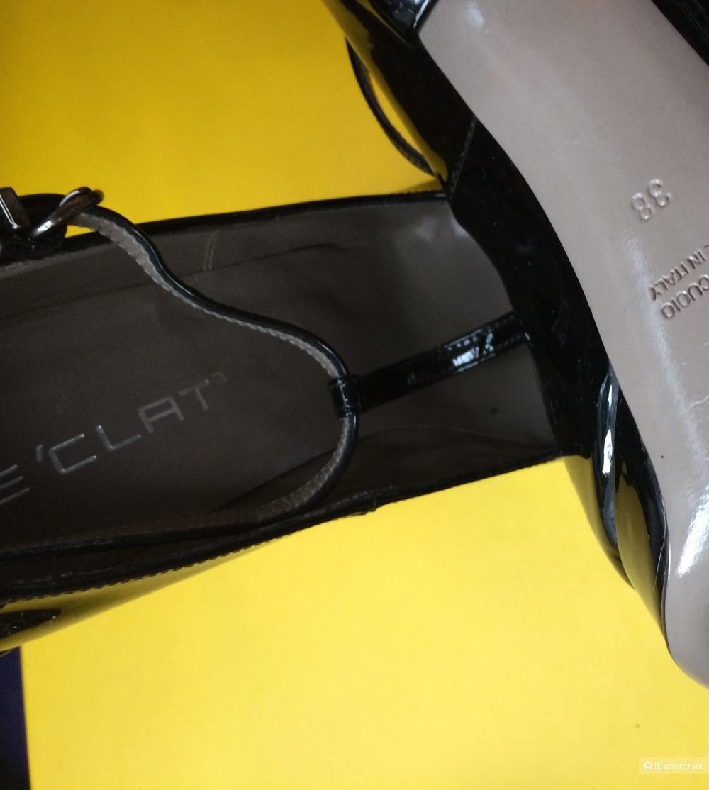 Туфли E'clat Италия,размер 38