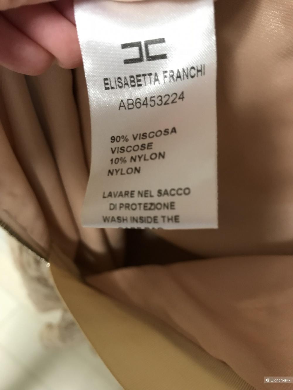 Платье Elisabetta Franchi, размер 42 рус