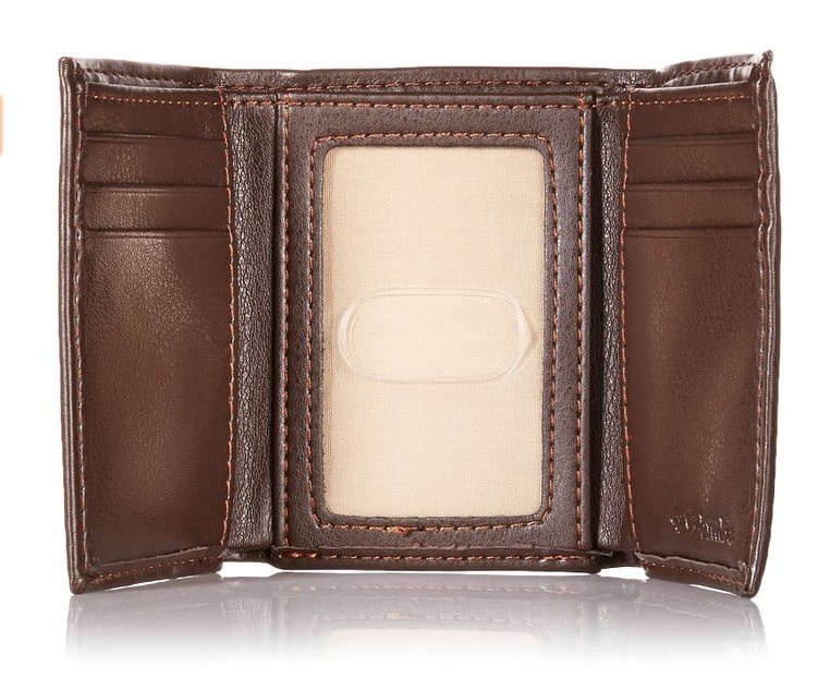 Мужской кошелек (портмоне) Columbia трифолд
