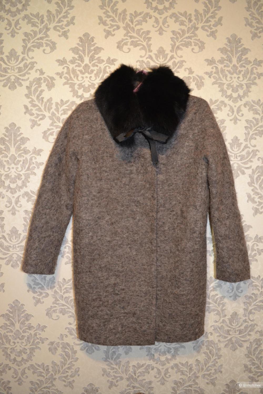 Шерстяное пальто Malvitta moda. (Размер 42-44)