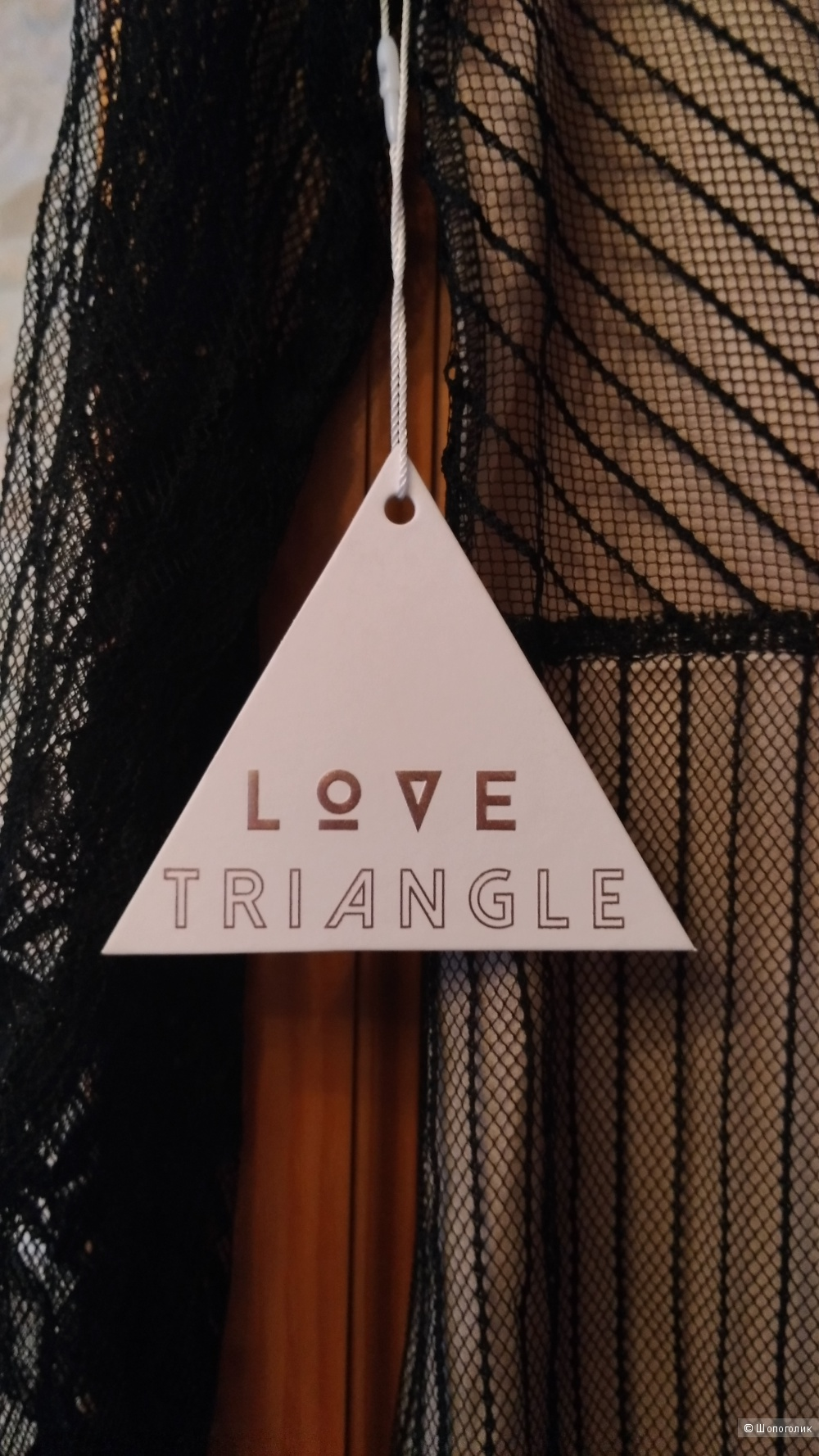 Кружевное платье миди Love Triangl ( ASOS)