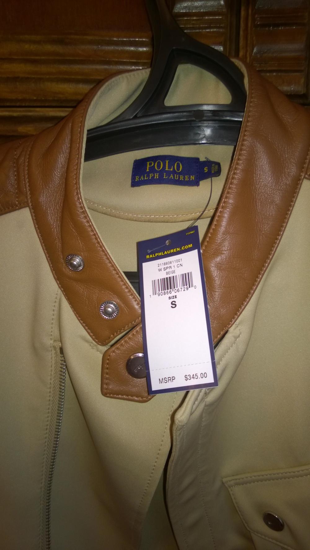 Новая куртка-косуха Ralph Lauren, 44-46