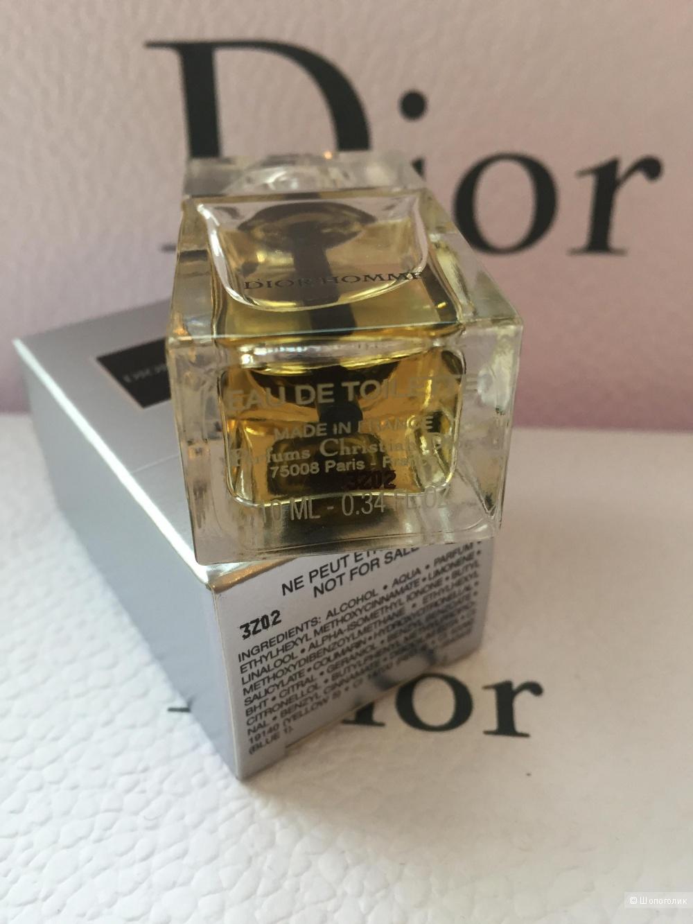 Dior , Dior  Homme , EDT , 10 мл
