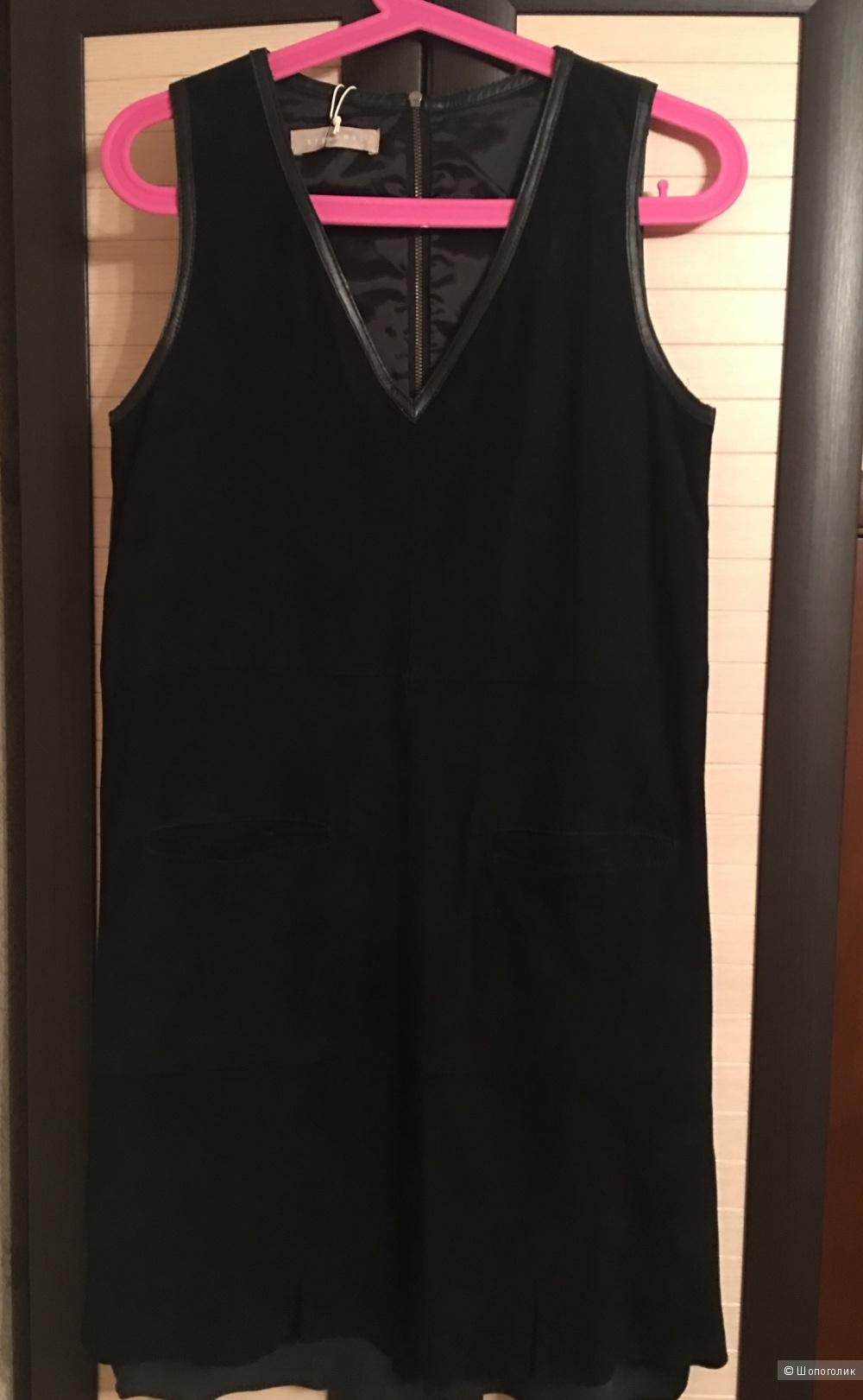 Платье замшевое Stefanel р-р us 4