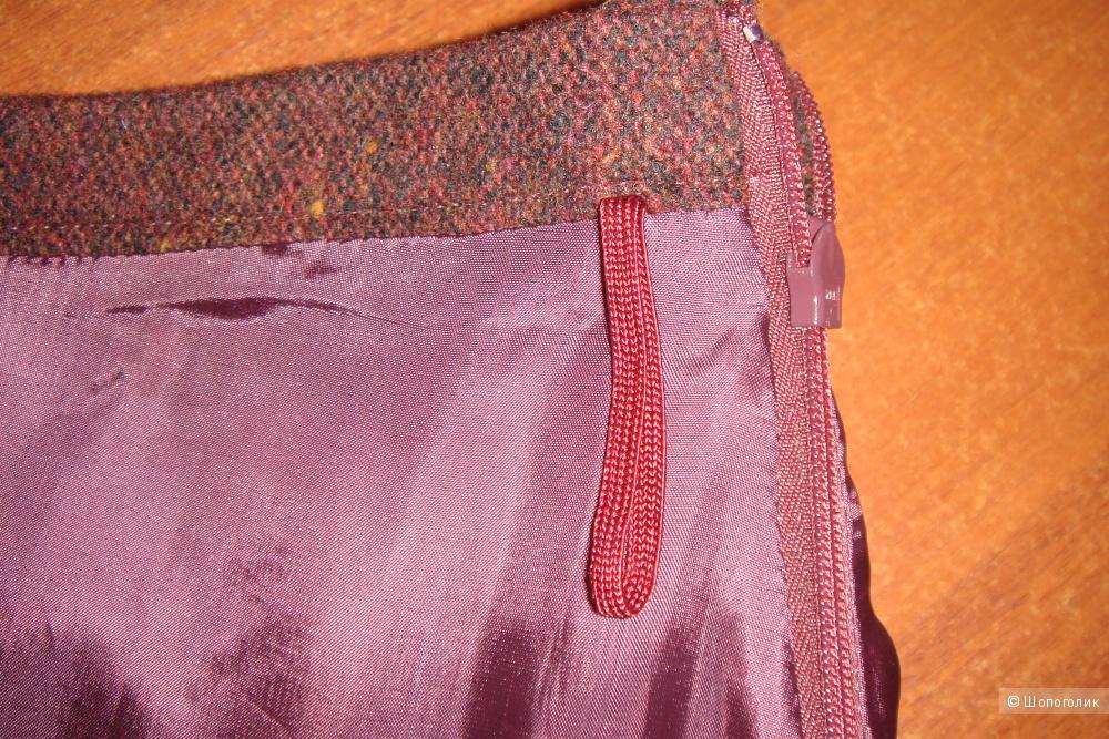 Шерстяная юбка Max Mara размер 42-44