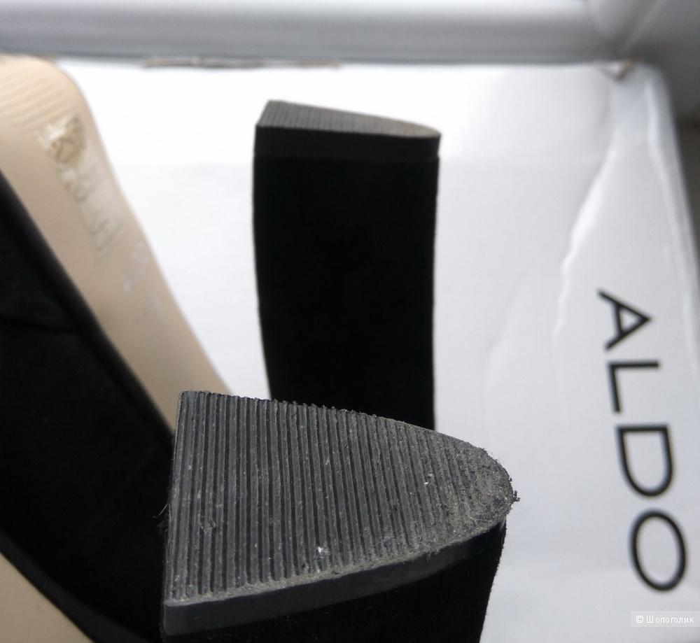 Замшевые туфли, ALDO, р. 38-39 (б/у один раз)