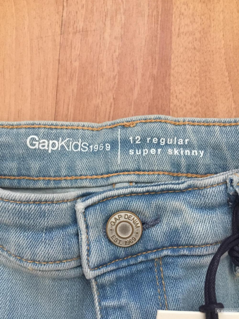 Джинсы GAP для девочки , размер 12