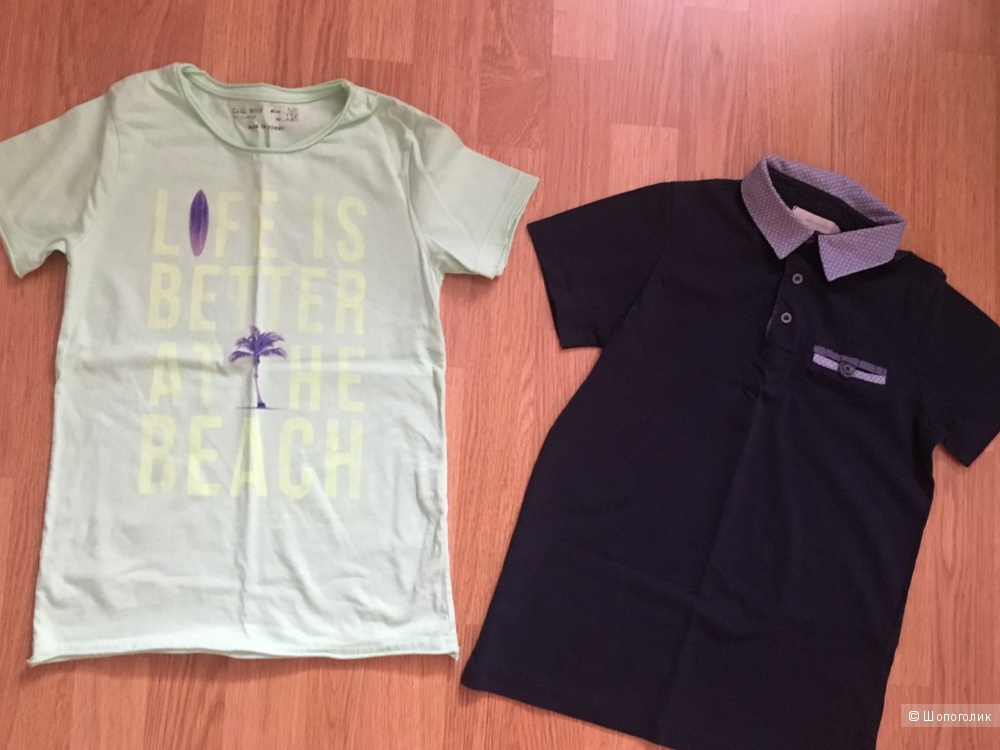 Комплект футболок Zara boys, 7-8 лет