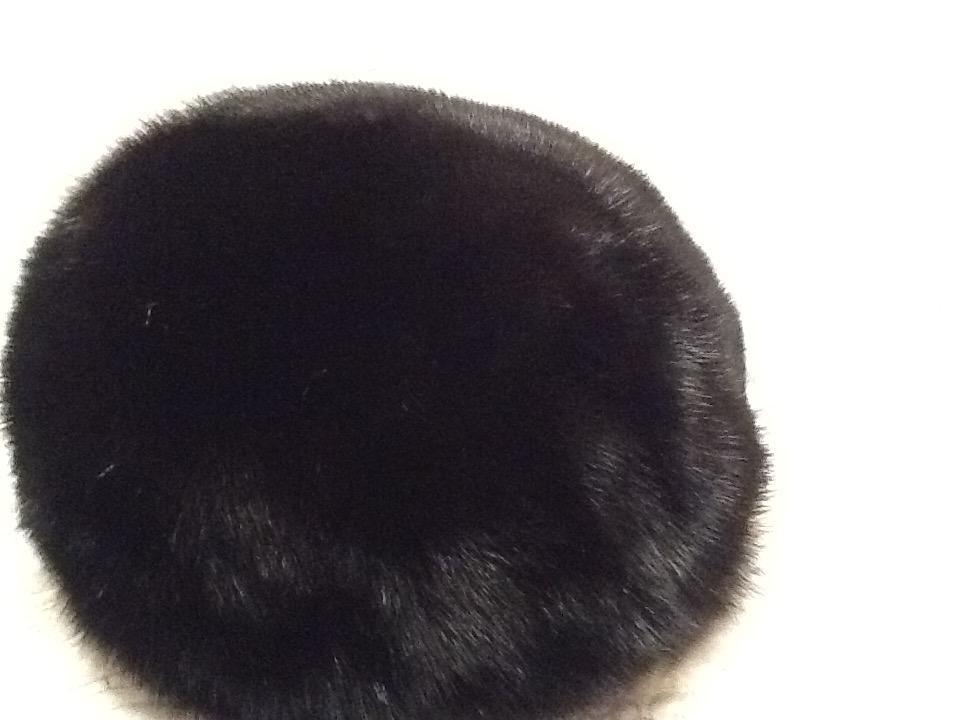 Мягкий норковый берет 55-58