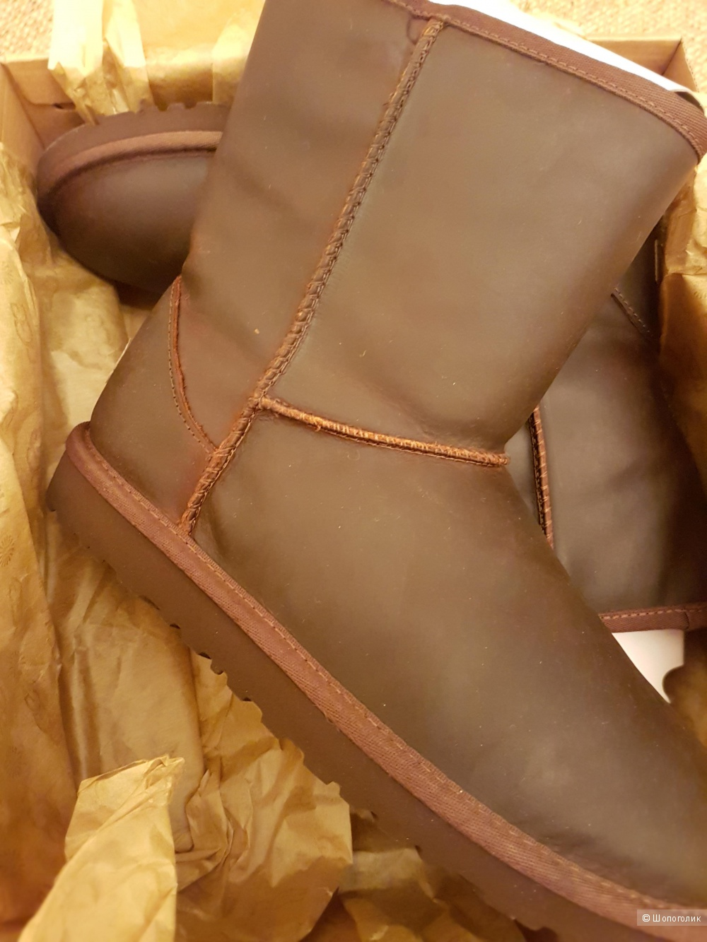Ugg classic short leather 38 размер