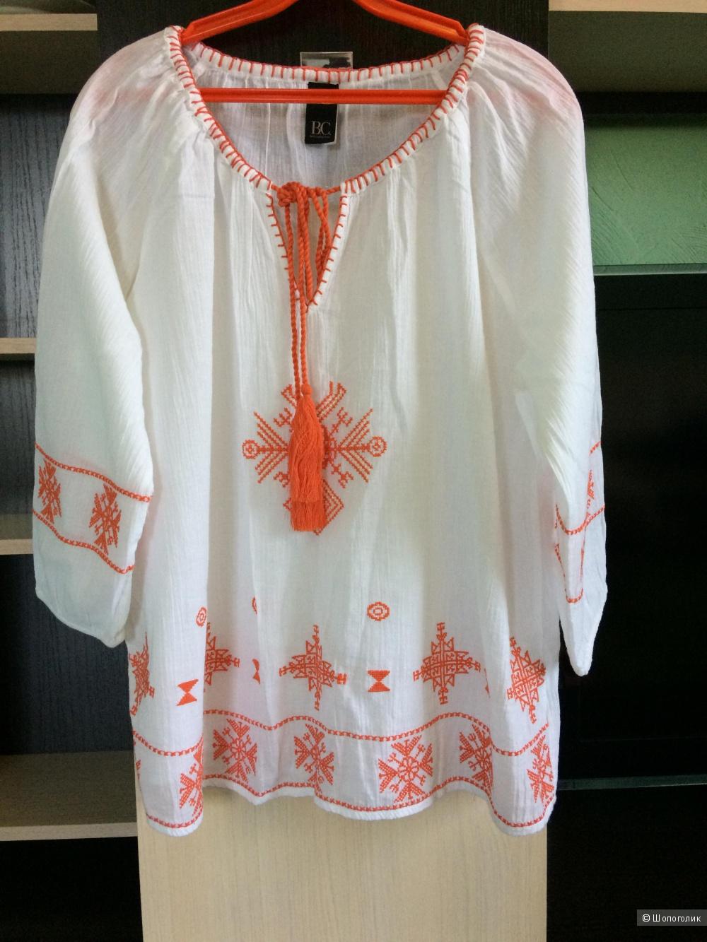 Хлопковая блузка от Best Connections 48-50 размер