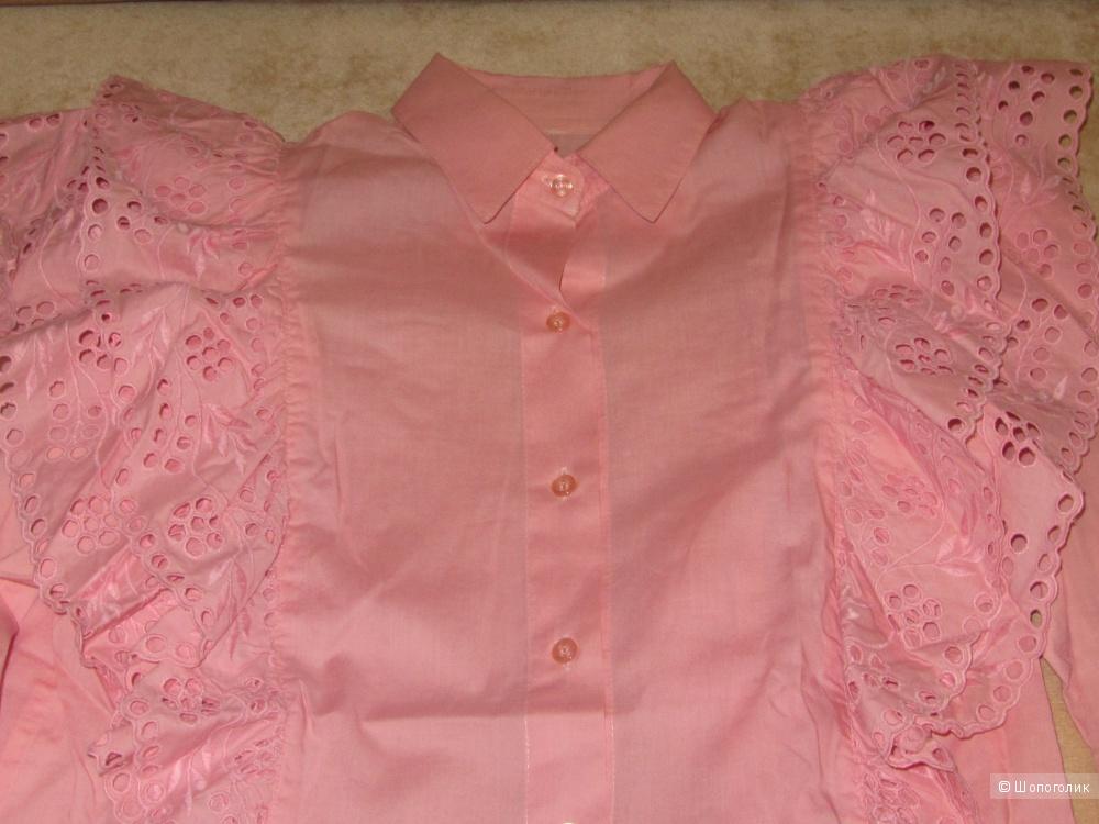 Блузка дизайнерская 46 размер росс.